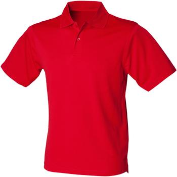 Textiel Heren Polo's korte mouwen Henbury HB475 Klassiek rood