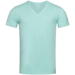 Textiel Heren T-shirts korte mouwen Stedman Stars  Lichtblauw