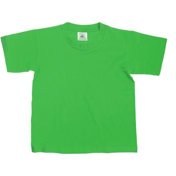 Textiel Kinderen T-shirts korte mouwen B And C Exact Kelly Groen