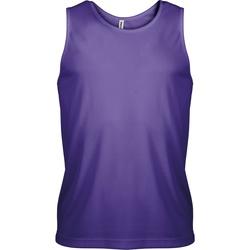 Textiel Heren Mouwloze tops Kariban Proact Proact Violet