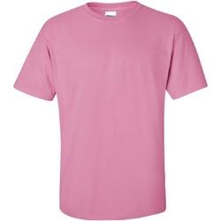 Textiel Heren T-shirts korte mouwen Gildan Ultra Azalea