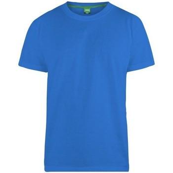 Textiel Heren T-shirts korte mouwen Duke Flyers-2 Blauw