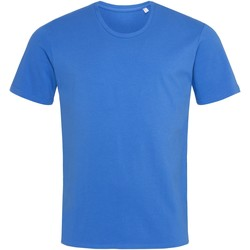 Textiel Heren T-shirts korte mouwen Stedman  Helder Koningsblauw