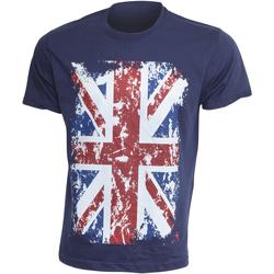 Textiel Heren T-shirts korte mouwen Gb Eye Limited Casual Marine