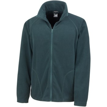 Textiel Heren Fleece Result R114X Bosgroen