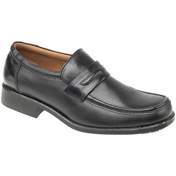 Schoenen Heren Mocassins Amblers Manchester Zwart