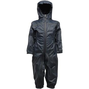 Textiel Jongens Jumpsuites / Tuinbroeken Regatta RG252 Marine