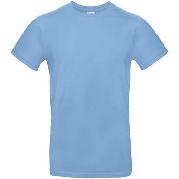 Textiel Heren T-shirts korte mouwen B And C TU03T Hemelsblauw