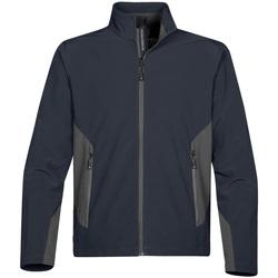 Textiel Heren Fleece Stormtech Softshell Marine / Graniet