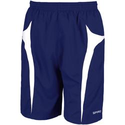 Textiel Heren Korte broeken / Bermuda's Spiro S184X Marine / Wit