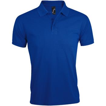 Textiel Heren Polo's korte mouwen Sols Prime Koningsblauw