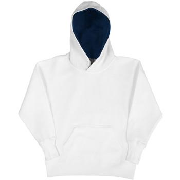 Textiel Kinderen Sweaters / Sweatshirts Sg Contrast Wit/Zwaar