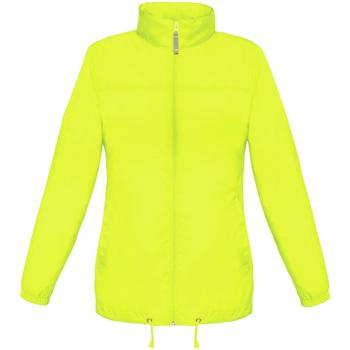 Textiel Dames Windjacken B And C Showerproof Ultra Geel