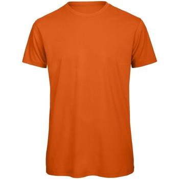 Textiel Heren T-shirts korte mouwen B And C Organic Stedelijk Oranje