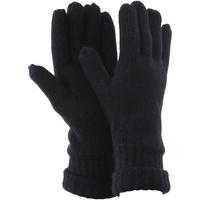 Accessoires Heren Handschoenen Floso Knitted Zwart