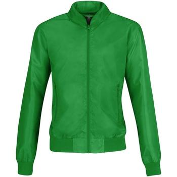 Textiel Dames Wind jackets B And C B658F Echt Groen/ Neon Oranje