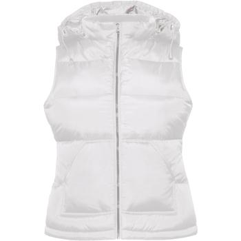 Textiel Dames Dons gevoerde jassen B And C Zen+ Wit