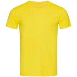 Textiel Heren T-shirts korte mouwen Stedman Stars Stars Geel