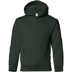 Textiel Kinderen Sweaters / Sweatshirts Gildan Hooded Bosgroen