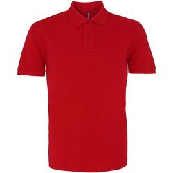 Textiel Heren Polo's korte mouwen Asquith & Fox AQ010 Kardinaal Rood