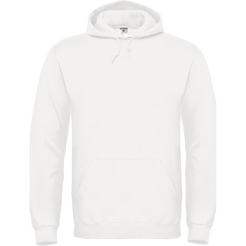 Textiel Dames Sweaters / Sweatshirts B And C Hooded Wit
