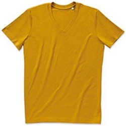 Textiel Heren T-shirts korte mouwen Stedman Stars Organic Curry Geel