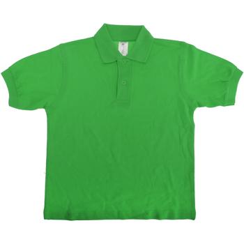 Textiel Kinderen Polo's korte mouwen B And C Safran Echt groen