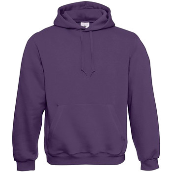 Textiel Heren Sweaters / Sweatshirts B And C Hooded Urban Paars