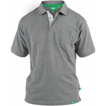 Textiel Heren Polo's korte mouwen Duke Pique Grijze Melange