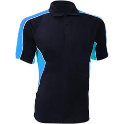 Textiel Heren Polo's korte mouwen Gamegear Active Marine / Lichtblauw