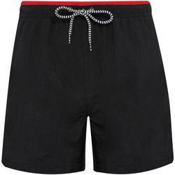 Textiel Heren Zwembroeken/ Zwemshorts Asquith & Fox AQ053 Zwart/Rood