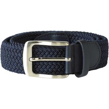 Accessoires Heren Riemen Duke Stretch Marine