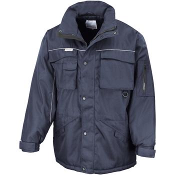 Textiel Heren Parka jassen Result Windproof Marine/Navy
