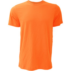 Textiel Heren T-shirts korte mouwen Bella + Canvas Jersey Oranje