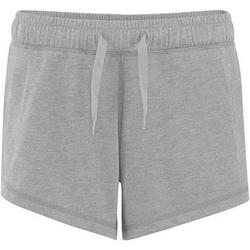 Textiel Dames Korte broeken / Bermuda's Comfy Co CC055 Heide Grijs