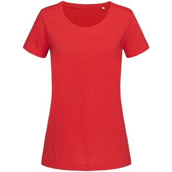 Textiel Dames T-shirts korte mouwen Stedman Stars Sharon Rood