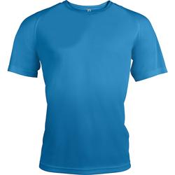 Textiel Heren T-shirts korte mouwen Kariban Proact Proact Aqua