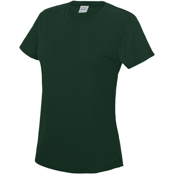 Textiel Dames T-shirts korte mouwen Just Cool JC005 Fles groen