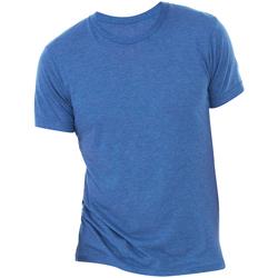 Textiel Heren T-shirts korte mouwen Bella + Canvas Triblend Echte Koninklijke Triblend