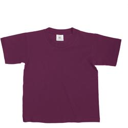 Textiel Kinderen T-shirts korte mouwen B And C Exact 150 Bourgondië