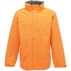 Textiel Heren Windjacken Regatta TRW461 Zon Oranje/Zonnebrandgrijs