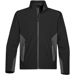 Textiel Heren Fleece Stormtech Softshell Zwart / Graniet