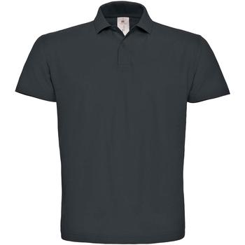 Textiel Heren Polo's korte mouwen B And C ID.001 Antraciet