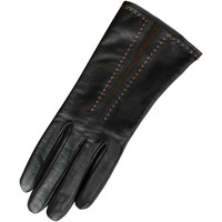 Accessoires Dames Handschoenen Eastern Counties Leather Contrast Zwart/Bruin