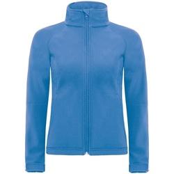 Textiel Dames Windjacken B And C Premium Azuurblauw