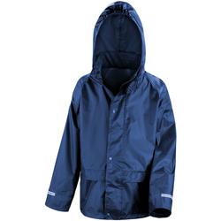 Textiel Kinderen Windjacken Result Stormdri Marineblauw