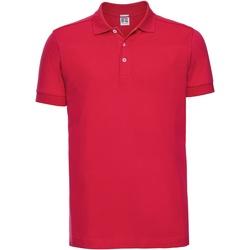 Textiel Heren Polo's korte mouwen Russell 566M Klassiek rood