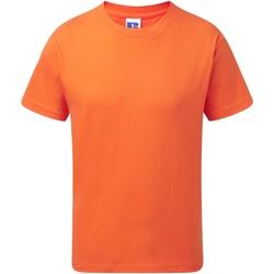 Textiel Kinderen T-shirts korte mouwen Jerzees Schoolgear J155B Oranje