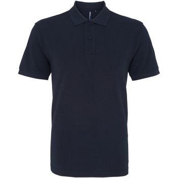 Textiel Heren Polo's korte mouwen Asquith & Fox AQ010 Franse marine