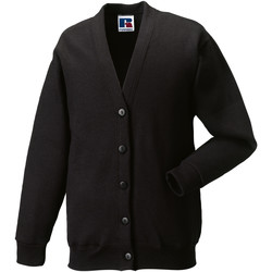 Textiel Kinderen Vesten / Cardigans Jerzees Schoolgear 273B Zwart
